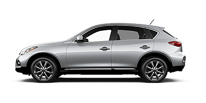 Photo of Infiniti QX50 AWD crossover model.