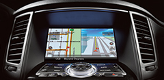 Available INFINITI Navigation System