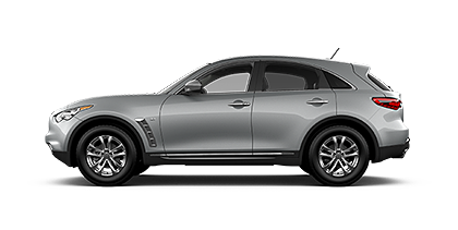 Photo of Infiniti QX70 3.7 AWD crossover model.