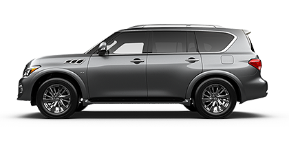Photo of Infiniti QX80 4WD luxury SUV model.