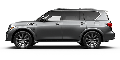 Photo of Infiniti QX80 Signature Edition 4WD SUV model.