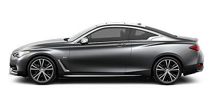 Photo of INFINITI Q60 3.0t LUXE model.