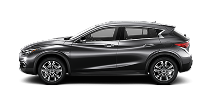 Photo of INFINITI QX30 ESSENTIAL AWD crossover model.