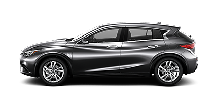 Photo of INFINITI QX30 LUXE crossover model.