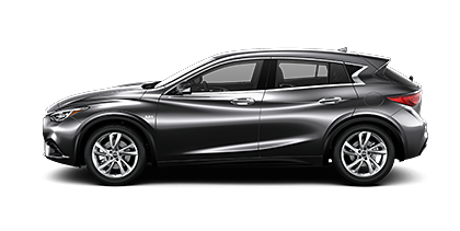 Photo of INFINITI QX30 PURE crossover model.