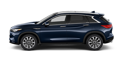 Photo of Infiniti QX50 ESSENTIAL AWD crossover model.