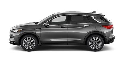 Photo of Infiniti QX50 PURE crossover model.